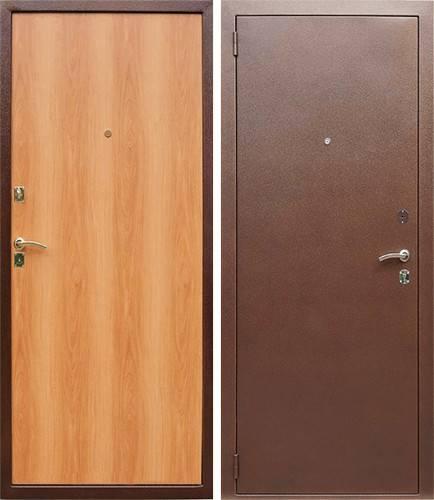 двери металлические эконом производство